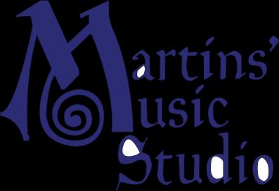 Martins' Music Studio Logo